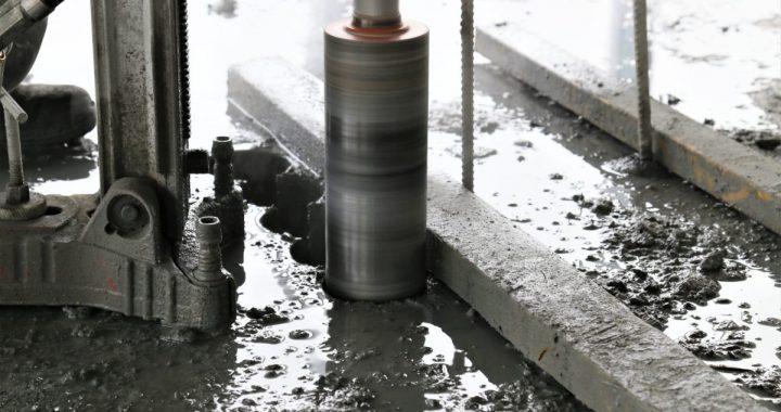 beton wiercenie