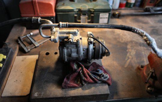 kompresor tłokowy